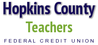 Hopkins County Teachers FCU logo